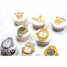 Rolex cupcakes