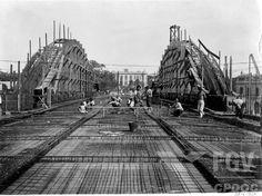 Viaduto Santa Tereza, projetado pelo eng. Emílio Baumgart e construído em 1929. BH/MG