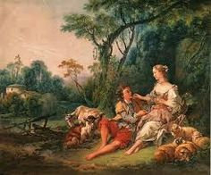 shepherd lovers Francois Boucher art for sale at Toperfect gallery. Buy the shepherd lovers Francois Boucher oil painting in Factory Price. All Paintings are Satisfaction Guaranteed Landscape Art, Landscape Paintings, Painting Inspiration, Art Inspo, Art Lyrique, Ancient Memes, Amadeus Mozart, Portraits From Photos, European Paintings