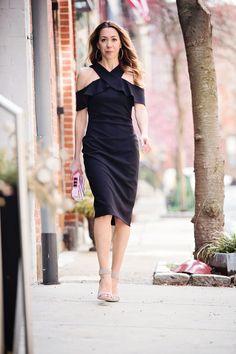 fa264ffd8ee The Motherchic wearing little black dress