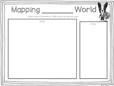Here's a page for students to map their world. Use this with the book MAPPING PENNY'S WORLD by Loreen Leedy.