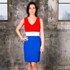 rood wit blauw jurkje