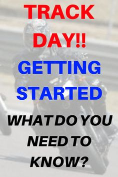 Improve your riding skills – Every sport bike rider, in fact every motorcycle rider wishes he or she could ride like a pro. It is unfortunately true that most of us cannot. One way to really improve your riding skills is to do the odd track day. Bike Rider, Be Your Own Boss, Sport Bikes, Get Started, Need To Know, Improve Yourself, Track, Facts, Motorcycle