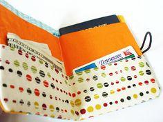 KeriAdonna: DIY passport holder