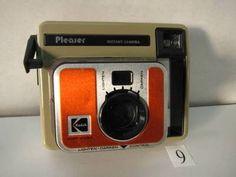 SO255KB Kodak PLEASER Instant Camera ジャンク - ヤフオク!