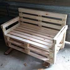 Resultado de imagen para como fazer sofá de madeira passo a passo com todas as medidas largura altura etc.