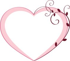 20 Free Clip Art Designs for Valentine's Day: Clip Art of a Pink Heart #3