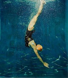 pool diver.  Eric Rener.