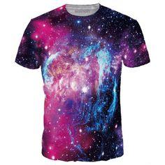 Ice Fire Stars T-Shirt