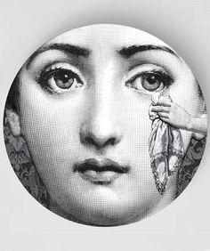 Mouchoir, un design original avec la célèbre gravure de Cavalieri sur plaque de mélamine