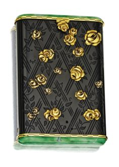 art deco cigarette box tiffany and cartier paris 1920s the rectangular art deco box office loew