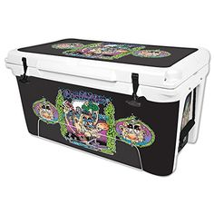 MightySkins Protective Vinyl Skin Decal for RTIC 65 qt Cooler wrap cover sticker skins Brainwashed ** Be sure to check out this awesome product.(This is an Amazon affiliate link and I receive a commission for the sales)