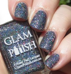 The PolishAholic: Glam Polish Hairspray Collection Swatches & Review