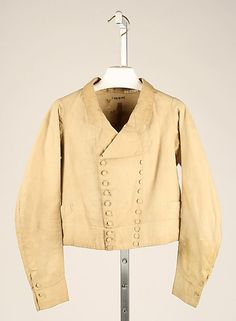 1825-1835, United Kingdom - Linen jacket