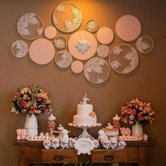 First Communion Cakes, Deco Champetre, Baptism Party, Ideas Para Fiestas, Diy Wall Art, Diy Party, Event Decor, Cool Things To Make, Diy Wedding