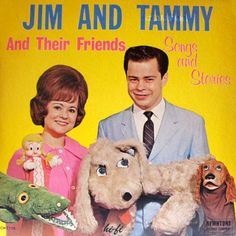 Christian album of the day: Jim and Tammy Bakker and their furry friends