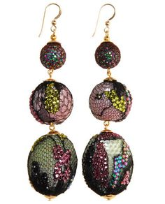 Scott Stephen (You've GOT to click on the link to see the detail on these earrings. They're just incredible!)