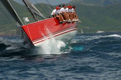 Antigua Sailing Week - day one, English Harbour to Dickenson Bay