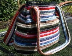 Grote tas 100% wol (model 2)