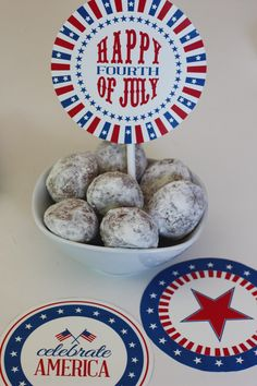 FREE July 4th party printables