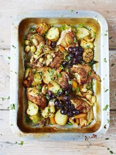 Wine Braised Chicken | Chicken Recipes | Jamie Oliver