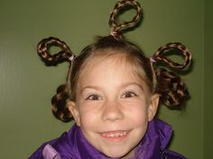 Adventures In Motherhood: Lily's birthday and crazy hair day at school