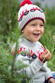 Strikkeglede til folket! Gjestal er stolte av å være en av Norges viktigste varemerker innen garn, design og trikotasje. Vår egenart er basert på seriøsitet, kvalitet og tillit i alle ledd. Crochet Hats, Knitting, Children, Pattern, Baby, Design, Fashion, Patterns, Tractor
