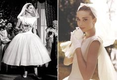 Funny Face Wedding Dress