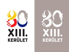 Logo design for City of Budapest XIII. District Municipality Mayor's Office, Hungary.