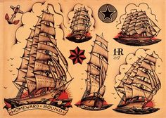 Sailor Jerry tattoos and designs SailorJerry traditional