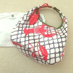 Kate Spade lobster Cape Cod hobo bag Over the shoulder summer collection tote from Kate Spade kate spade Bags Hobos