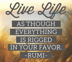 I accept and THRIVE in the knowledge that I am surrounded with favor from the universe! #DailyAffirmation