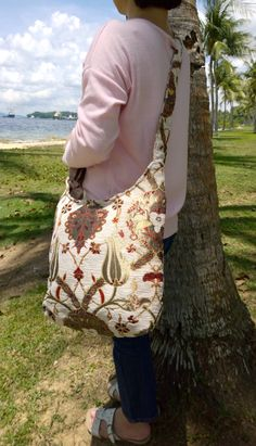 A personal favorite from my Etsy shop https://www.etsy.com/sg-en/listing/261312027/silk-embroidery-hobo-crossbody-hipster