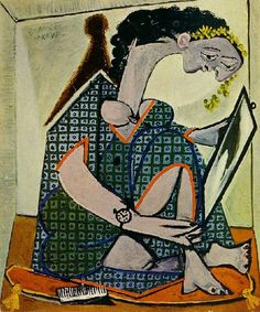 Pablo Picasso, Femme à la Montre. See The Virtual Artist gallery: www.theartistobjective.com/gallery/index.html