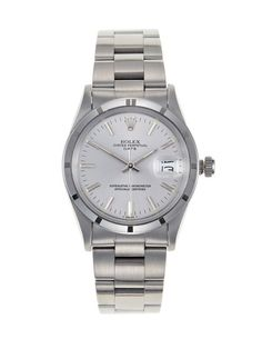 Rolex Stainless Steel Oyster Perpetual Date by Vintage Watches on Gilt.com
