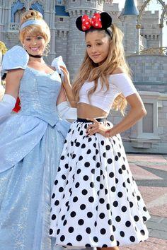 Ariana celebrates 21st birthday at Walt Disney World on June 24, 2014 Getty -Cosmopolitan.com
