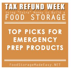 Top picks for Emergency Preparedness products. These things will keep you covered in case of an emergency!