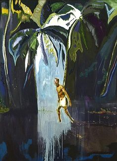 'Pelican Song' (Stag) , 2003 - Peter Doig