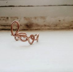 SALE Love ring,love wire ring, couple ring, bridesmaid gift by #Lovassion #jewelry