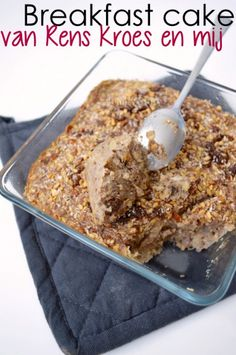 Recept: Breakfast cake van Rens Kroes en mij