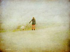 77/365 Girl with dog