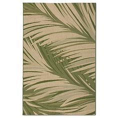 The Miami Palm Rug is inspired by today's coastal lifestyles. With a beautiful palm frond design, these durable woven rugs are constructed to withstand the elements while providing comfort and beauty. These rugs are also stain and soil resistant.