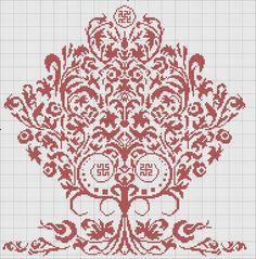 "Сердечки, миниатюры"" on Yandex. Blackwork Embroidery, Embroidery Sampler, Hand Embroidery Patterns, Cross Stitch Embroidery, Cross Stitch Tree, Cross Stitch Samplers, Cross Stitching, Modern Cross Stitch Patterns, Cross Stitch Designs"