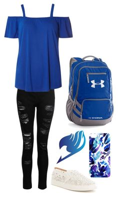 """Celine 7"" by pokemonfan701 on Polyvore featuring Dorothy Perkins, Antonio Melani, Samantha Warren London and Under Armour"