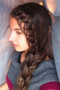 feather braid to regular 3 strand with one microbraid