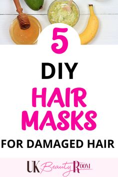 Deep conditioning hair masks to fix dry hair and split ends overnight. Masks for frizz, for dandruff, for shine. Coconut oil is best for a dry scalp. These homemade hair remedies are among over 100 DIY beauty treatments. African American, easy to make, thicker healthier hair, natural, eggs, aloe vera, olive oil, black hair, banana, castor oil, avocado, protein, honey, homemade egg yolks, shampoos, it works, thinning hair, moisturizing, products, conditioner, silky, shiny, for curly hair Hair Mask For Damaged Hair, Diy Hair Mask, Hair Masks, Dry Hair, Homemade Hair Treatments, Diy Beauty Treatments, Make Hair Thicker, Deep Conditioning Hair Mask, Face Scrub Homemade