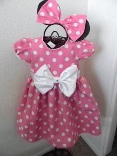 Pink Minnie Mouse Dress