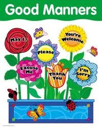 Good Manners Theme and Activities Online