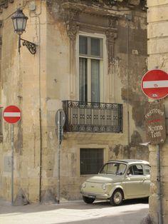 Tiny Fiat in Lecce