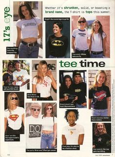 little-trouble-grrrl: seventeen, july 1995 Early 2000s Fashion, 90s Fashion, Retro Fashion, Runway Fashion, Vintage Fashion, Fashion Outfits, Decades Fashion, Fashion History, Couture Fashion